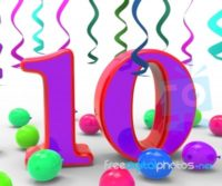 number-ten-party-means-birthday-party-decorations-and-adornments-100258746