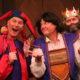 Yorick (Chad Yarish), Hamlet (Reed Martin), and the King (Austin Tichenor) plan the prince of Denmark's big adventure!